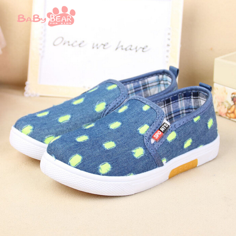 Free Shipping 2016 new spring children's shoes with rubber soles wear shoes color