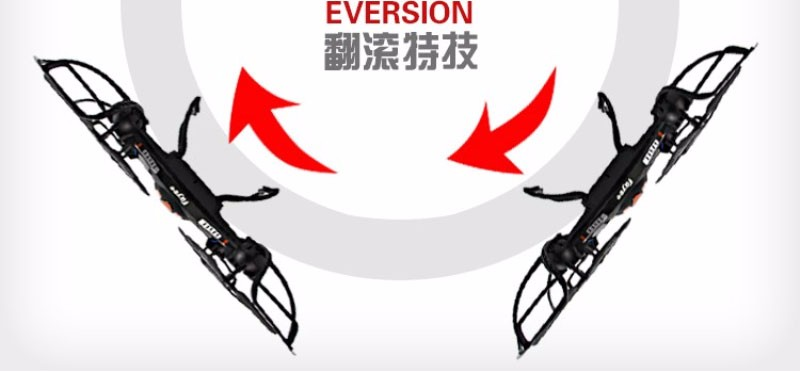 Professional remote control drone FY-560 2.4G 6-Axis Gyro 5.8G FPV RC Quadcopter with 2.0MP Camera Headless Mode 360 Rolling
