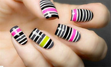 100pcs lot 39 Colors Rolls Striping Tape Line Nail Art Sticker Tools Beauty Decorations for on