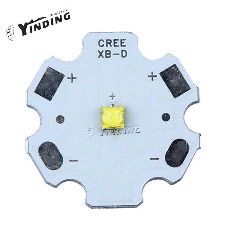 Гаджет  Freeshipping!10pcs Cree XBD XB-D 3W LED Emitter Lamp Light White/Warm Yellow/Red/Blue/Green LED Chip with 20MM PCB None Свет и освещение