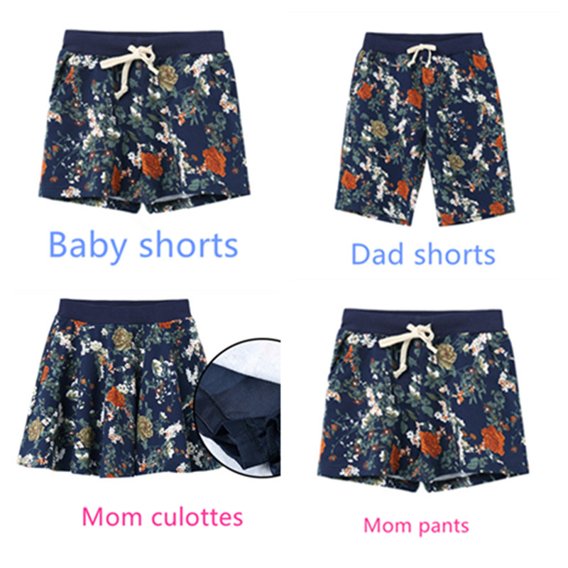 2016 summer style Sports Family Pants,Multicolor Fashion wild Family shorts,Cotton blended Couples shorts and Family Clothing(China (Mainland))