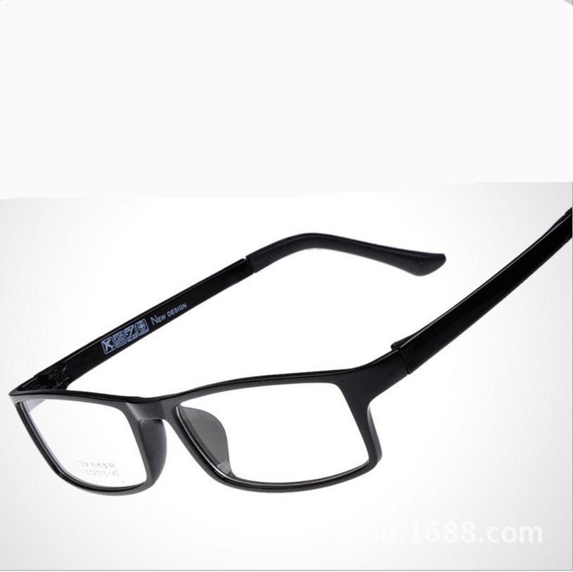 Eyeglass Frame Metal Vs Plastic : 2015 New eyeglasses plastic steel ultra light TR90 optical ...