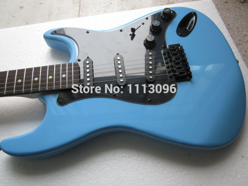 Electric guitar Free shipping wholsale ERMIK ST BLUE COLOR BRAND electric guitar/guitar china(China (Mainland))