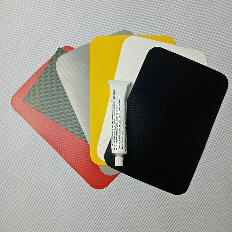 Inflatable Kayak Boat Dinghy Rib Canoe Waterproof PVC Repair Patch Kit 20 x 13cm 9 Colors Available(China (Mainland))