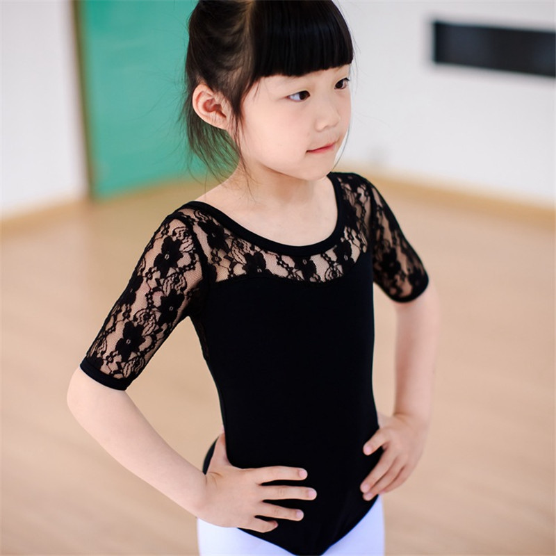 4-16Y Kids Girls Ballet Dance Dancewear Gymnastics Leotard Lace Skirt Tutu Strap Dress - YRD store