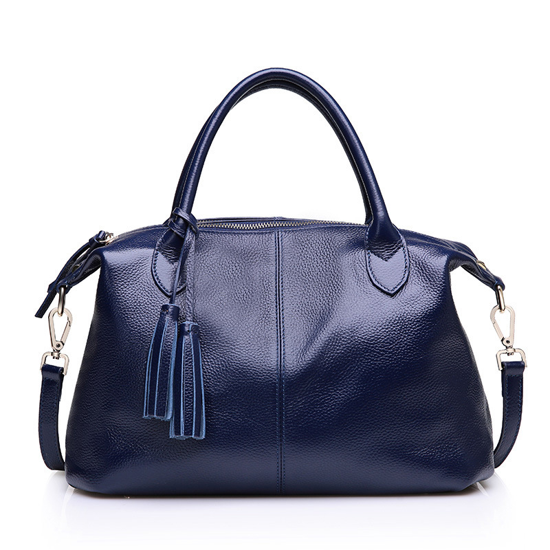 100% guarantee genuine leather women business messenger bags with high quality shopping handbags casual shoulder bags for women<br><br>Aliexpress