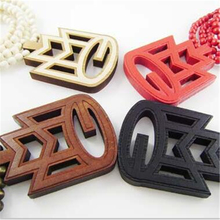 Top Quality Beads Chain GOOD WOOD Hiphop Necklaces Pendants Fashion Letter MMG  Pendant Vintage Necklace 2016 Vintage Jewelry(China (Mainland))