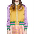 New Arrival 2016 Autumn Women Basic Coats Fashion Heavy Embroidered Bomber Jacket Long Sleeve Baseball Jacket