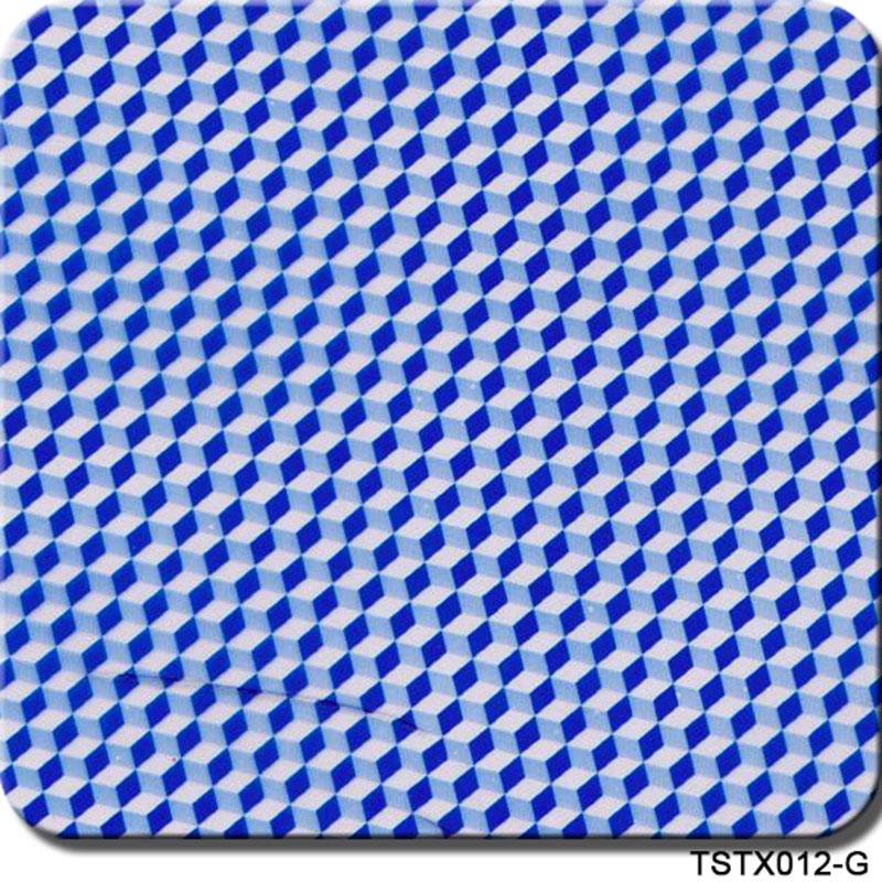 Free shipping TSTX012-G width 50cm x 10m 5Sqm blue carbon fiber pattern hydrographic printed film water transfer film(China (Mainland))