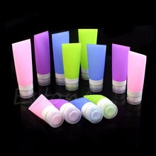 Cute Travel Silicone Packing Bottle Lotion Shampoo Tube Container 38ML/60ML/80ML(China (Mainland))