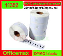 36 x Rolls Dymo Seiko Compatible Labels Return address labels 54 x 25mm 500 Labels Per