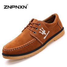 2016 New Spring Men Shoes Luxury Brand Maserati Casual Shoes Men Leather Shoes For Men Flats Zapatos Hombre ZNPNXN(China (Mainland))