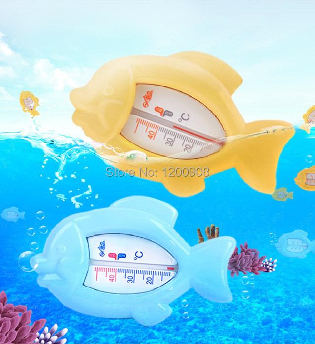 2 pcs fish water meter baby bath water thermometer baby water meter dual thermometer(China (Mainland))