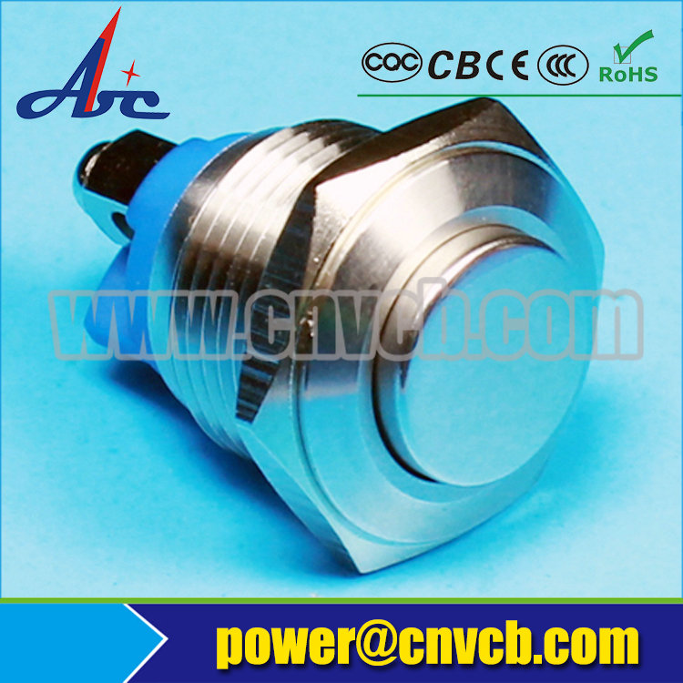 IP67 16mm momentary screw terminal stainless steel High riser switch(China (Mainland))
