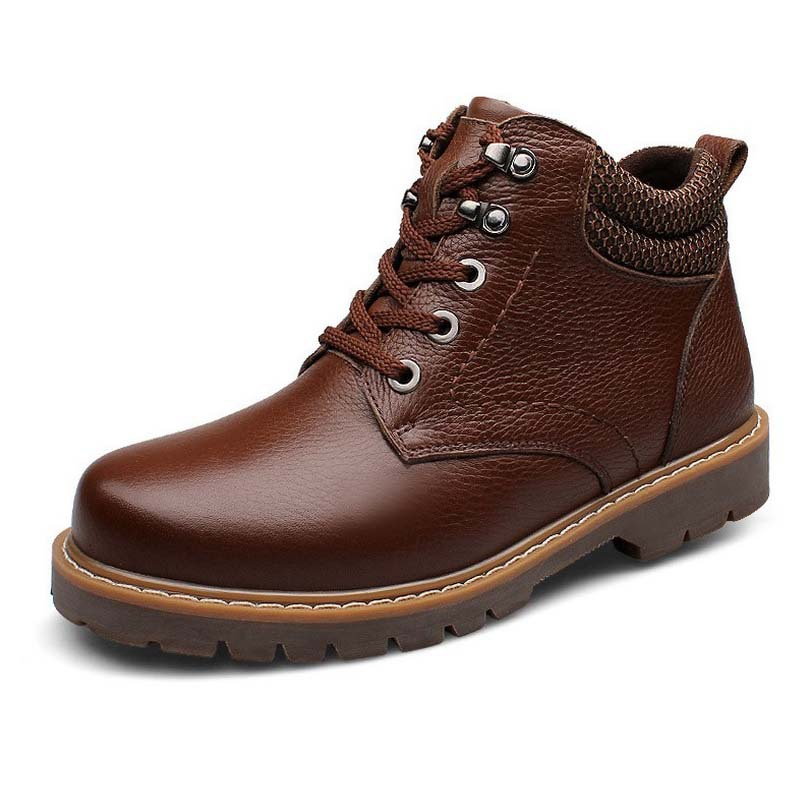 Гаджет  2014 European and American high-end leather casual brand new Martin boots male boots Korean version of the British tide single b None Обувь