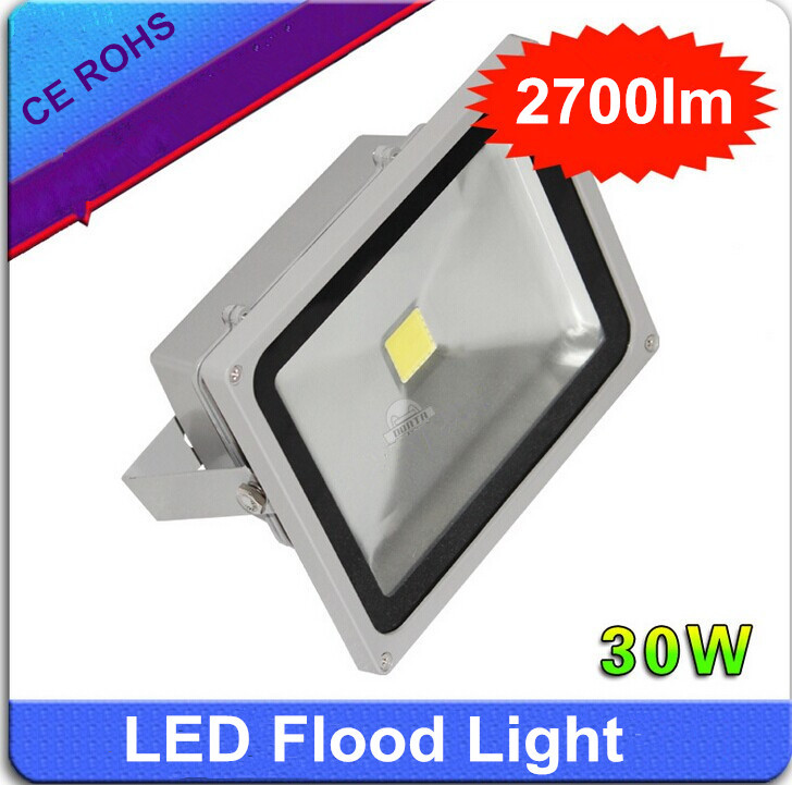 Spot,Russian market 30W Waterproof LED Wash Flood Light Floodlight LED Projection Outdoor Lamp IP65(China (Mainland))