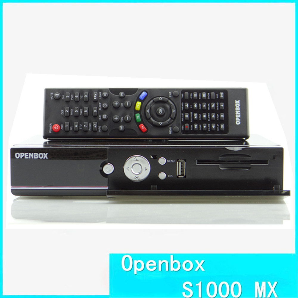 Hot Cheap openbox S1000 MX HD Satellite Receiver With DVB-S2 box Support CCcam NEWcam MGcam Biss Key system 1080P Full HD(China (Mainland))