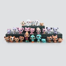 2016 Fashion 25pcs/set Cartoon Littlest Pet Shop Characters Action Figure Model Toys littlest pet shop model figure action