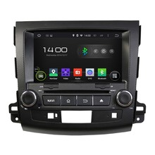 HD 1024*600 Quad Core 1.6G 16GB Android 5.1.1 Car DVD Player Radio GPS Navi Stereo for MITSUBISHI OUTLANDER 2006 2007 2008-2012
