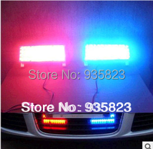 led car Daytime running lights Strobe Light Flash Warning EMS Car Truck Firemen Lamp 2*22 LEDs changeable blue red - Shen zhen Jie Feng Technology Co., LTD store