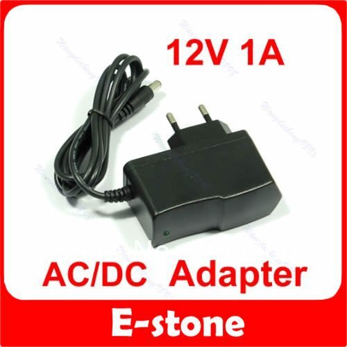 for beauty toolFree shipping 10 Pcs/Lot 12V 1A AC DC Plugtop Power Adapter Supply 1000mA New