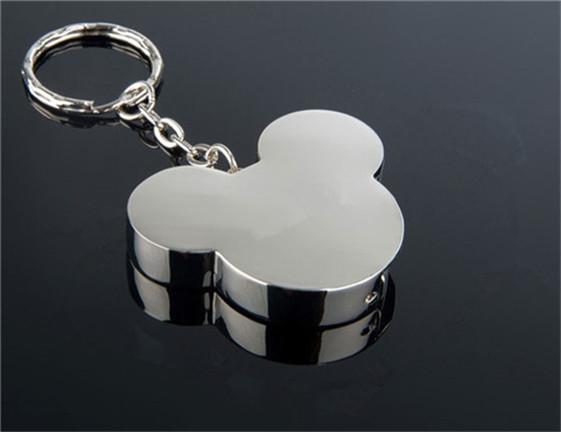Metal cartoon Mickey Head lovely mouse USB Flash Drive Memory Card Stick Thumb/Car/Pendrive Key U Disk/Creativo Gift 1-64GB(China (Mainland))