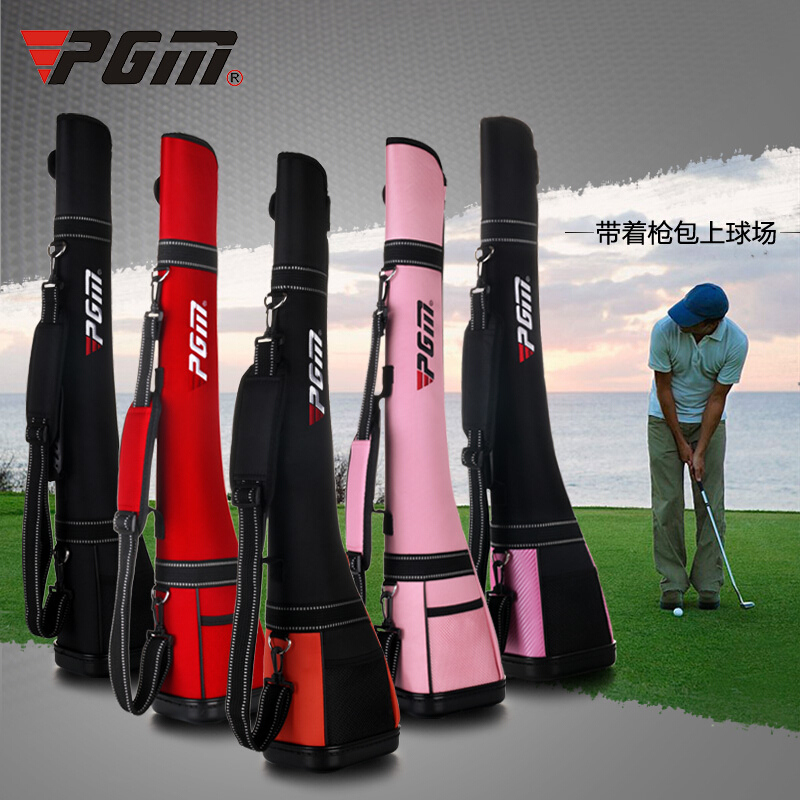 2015 Top quality! On Sale! brand Golf Gun bags for men and women golf travel bag pink/black/red Free shipping(China (Mainland))