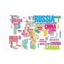 Buy Mural Colorful World Map Wall Sticker Decal Vinyl Art Kids Room Office Home Decor Quote Removable Vinyl Art Decor for $3.92 in AliExpress store