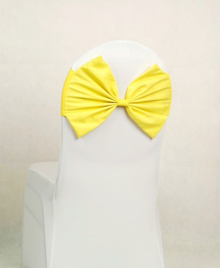 yellow butterfly bow tie