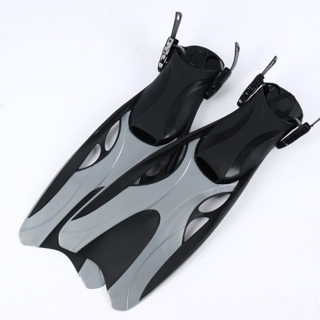 Free shipping Quality frog adjust fins adult swim fin long flipper swimming flippers