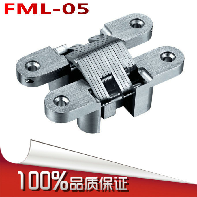 Fu Melody FML-05 folding cross hinge invisible hinge concealed hinge hidden hinge hidden(China (Mainland))