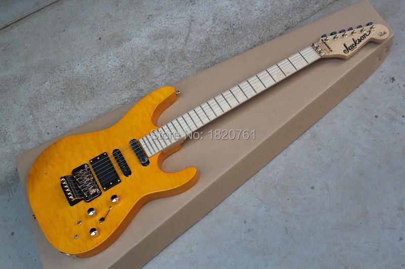 Nuovo sl2h usa soloist maple neck pickup attivi finitura intarsi firma personalizzata corpo 6 corde chitarra elettrica jackson 14815(China (Mainland))
