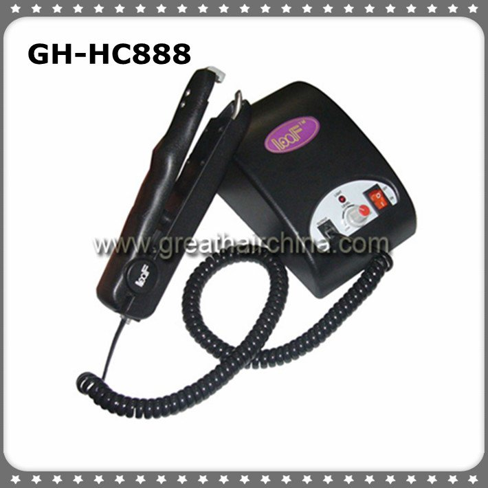 Ultrasonic Hair Extension Connector/Iron/Machine for Fusion Hair Extension 1PC/lot Free Shipping(China (Mainland))