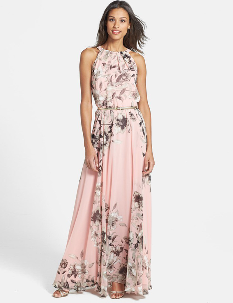 Brilliant  Women39s Blouson Sleeve Style Quarter Dress With Surplice Neckline