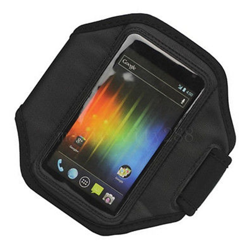 T-Mobile Sprint Phone Cover Case Bag for SAMSUNG GALAXY S2 4G Black Sport Pouch Bag(China (Mainland))