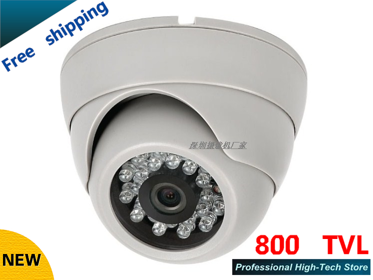 free shipping!cctv camera HD 800TVL sony ccd cctv cam IR surveillance camera security camera wholesale dome cameras(China (Mainland))