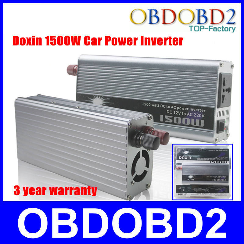 High-Power 1500W For Household Car Power Inverter DC 12V Change 220V 1500W Inverter Without UPS High Quality(China (Mainland))
