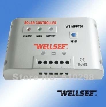 sun solar power wind power system 50A 48V MPPT Solar intelligent controllers solar controller accessories diy AL MPPT60  f