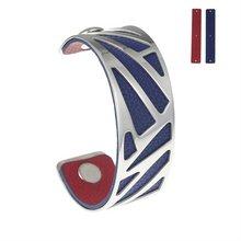 Cremo Neue DIY Edelstahl Schmuck Yoiumit Arm Manschette Armreifen Armbänder Manchette Cuir Austauschbar Leder Pulseiras(China)