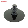Micromake 3D Printer Accessories Printing Platform Black Crystal Panel Diameter 20cm thickness 4mm