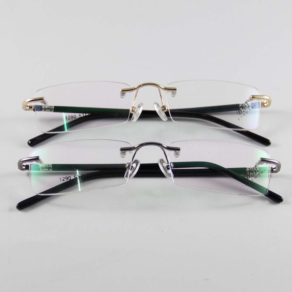 Designer Rimless Eyeglasses : Aliexpress.com : Buy Fashion Eyewear Unisex Glasses Frame ...