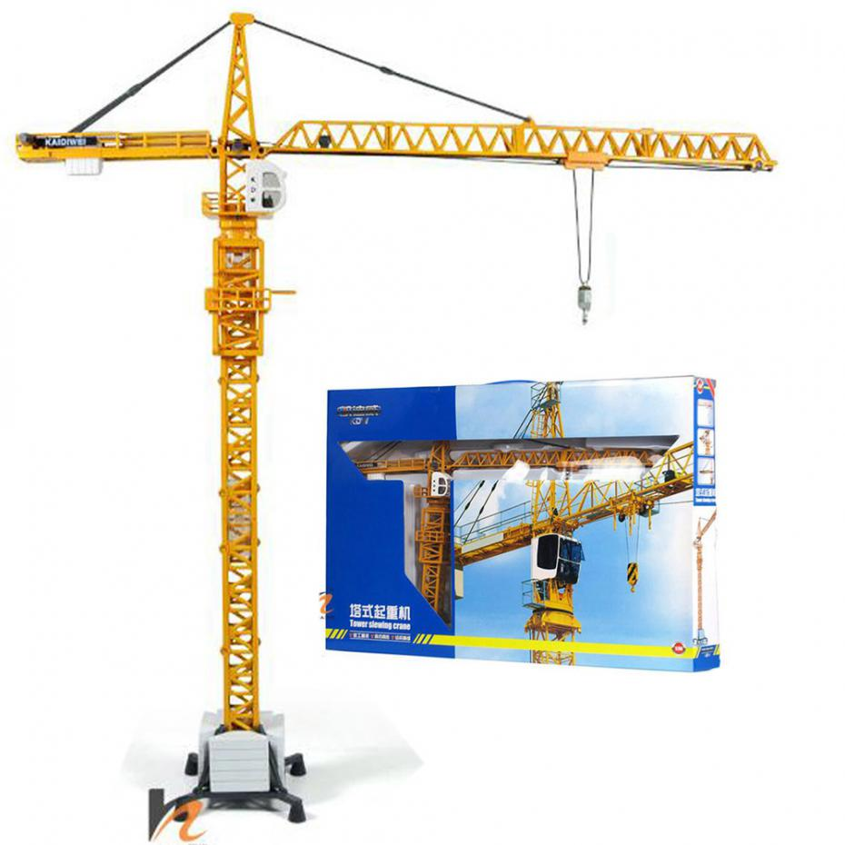 C5006 KDW 1:50 Scale Diecast Tower Slewing Crane Construction Vehicle Car Models Toys(China (Mainland))