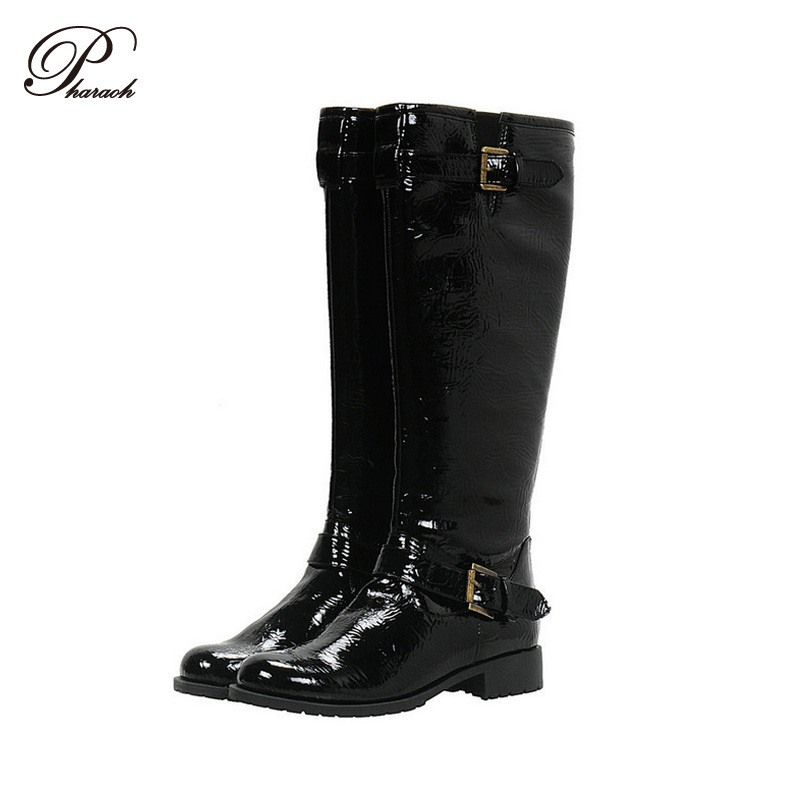 black leather womens winter boots national sheriffs