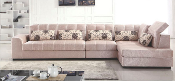 Lizz chinese style modern fabric sofa standard export for Chinese style sofa