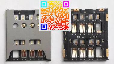 20 шт./лот читатель сим-карты держатель лотка слот для nokia lumia 1320 гнездо читатель сим-карты