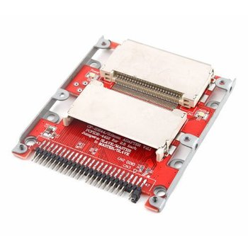 Dual CF to 44 Pin 2.5 Male IDE SSD HDD Adapter Bootable