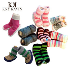 European Design quality baby shoes branded handmade knit cartoon boots newborn baby girl boy shoes soft sole first walker HK488(China (Mainland))