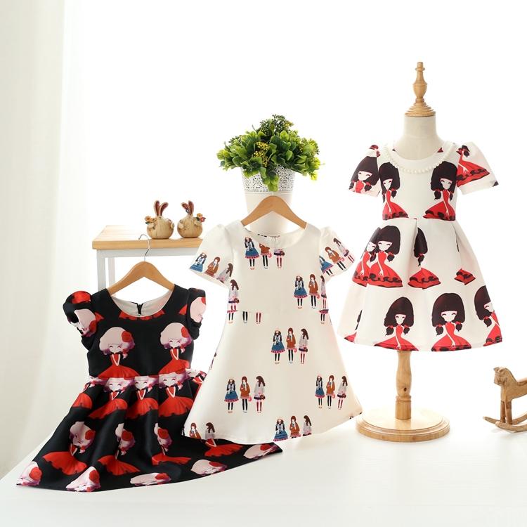 tutu dress toddler girl clothing summer style princess Short sleeve dresses girls infant children baby clothes fashion babies(China (Mainland))