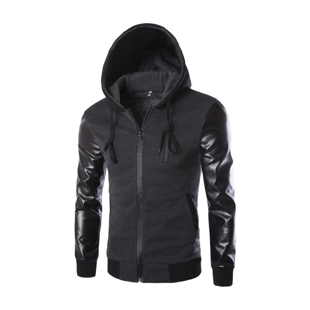 2015 New Arrival Men's Casual Basketball Jackets Top Quality Patchwork Design men Fashion Coat Autumn Wear men clothing(China (Mainland))