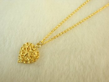 Wholesale Super deal New arrival fashion Jewelry vacuum plated 24K gold Women's necklace 46cm Super price !Free Shipping XL45